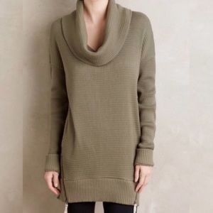 Anthropologie Pure + Good Cowlneck Sweater